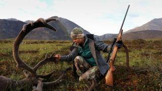 caza en alaska
