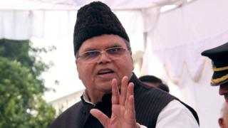 जम्मू कश्मीर के राज्यपाल सत्यपाल मलिक
