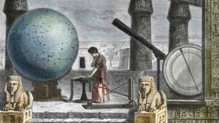 Dibujo de Ptolomeo.