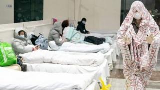 Çin'de bir hastane