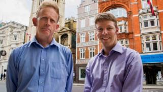Gavin Sherriff (left) and Darryl Smith