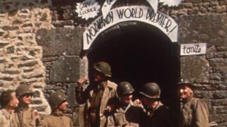 Прем'єра фільму Гері Купера для американських бійців у Нормандії