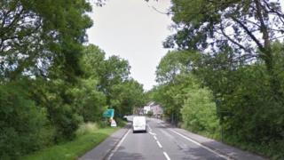Scooter van crash Derbyshire Ambergate