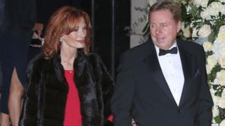 Sandra and Harry Redknapp