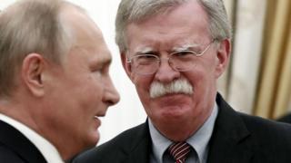 Путин и Болтон