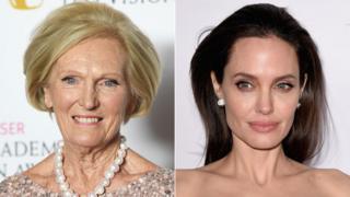 Mary Berry and Angelina Jolie Pitt