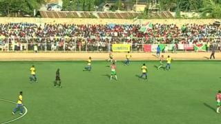 Burundi ikikabiliana na Tanzania