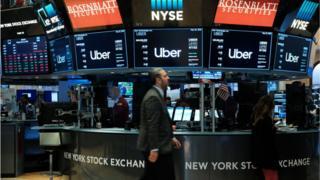 Uber on NYSE