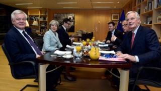 Brexit talks in December 2017