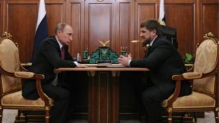 Путин ва Қодиров