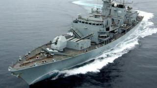 السفينة الحربية مونتروز