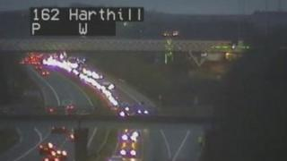 Delays at Harthill