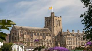Bangor University (main arts old college)