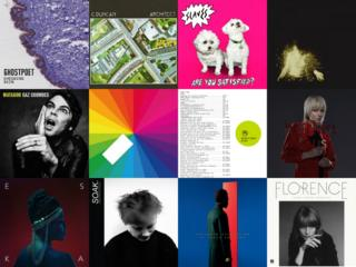 The 12 albums nominated for the 2015 Mercury Prize