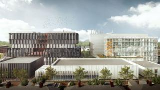 Artist's impression of Cardiff University innovation centre