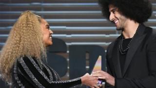 Beyonce and Colin Kaepernick