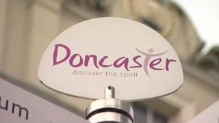 Doncaster sign