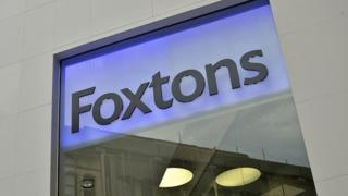 Picture of a Foxtons's sign