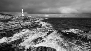 lighthouse near Portmahomack