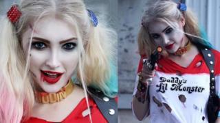 Anna Faith as Harley Quinn