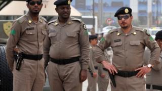 د سعودي پولیس