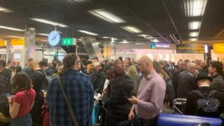 Schiphol airport: Pilot sparks hijack security alert in Amsterdam