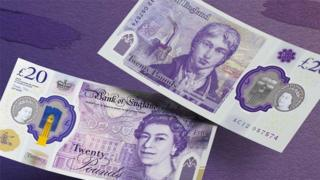 New £20 note - both sides