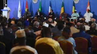 La délégation française avait pour objectif à l'occasion de cette rencontre de sensibiliser ses alliés sur la pertinence de cette initiative africaine de lutte contre le terrorisme dans la région du Sahel.