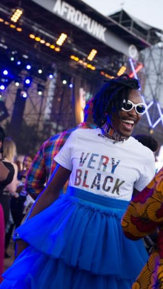 Black consciousness inspired fashion at AfroPunk Johannesburg