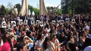 gazi protestoları