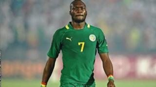 Moussa Sow, milieu de terrain sénégalais.
