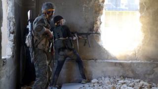 نیروهای شورشی مخالف دولت سوریه