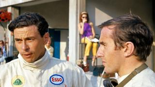 Jim Clark and Jackie Stewart