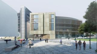 Glasgow Uni Western Infirmary plans