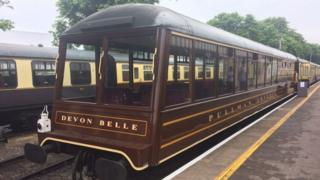 Devon Belle carriage