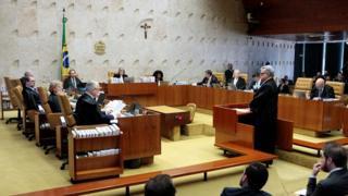 Plenário do STF em audiência