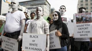 Протестующие в Иерусалиме