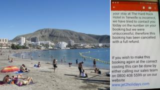 Tenerife and email reply