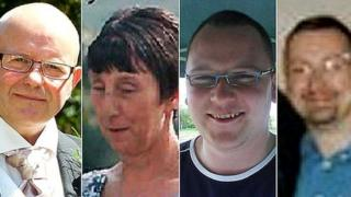 The victims of the Bosley mill explosion