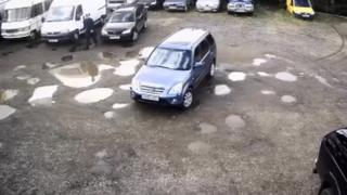 Car on CCTV