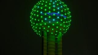 Reunion Tower in Dallas, Texas