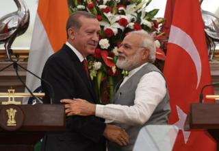 مودي او اردوغان