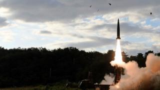 Kuzey Kore'nin balistik füze denemesi