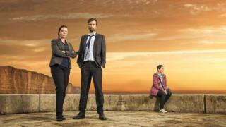 Olivia Colman, David Tennant and Julie Hesmondhalgh