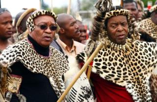 Mungu huzungumza kupitia kwangu adai mfalme wa Zulu