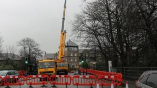 Victoria Bridge repairs