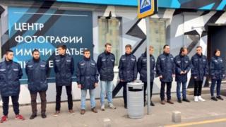 офицеры россии на выставке