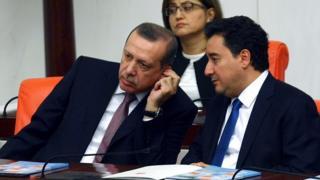 Recep Tayyip Erdoğan ve Ali Babacan (10 Aralık 2012)
