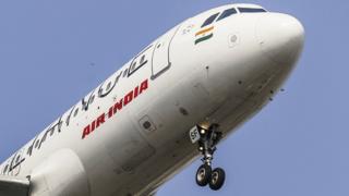 Un avion de la compagnie nationale Air Inde avec quatre autres compagnies ont interdit leurs vols au député Ravindra Gaikwad (illustration)