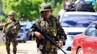 Ông Duterte đã tuyên bố thiết quân luật trong 60 ngày tại Mindanao.